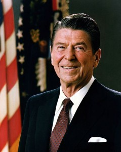 President Ronald Reagan Image/Executive Office of the President of the United States