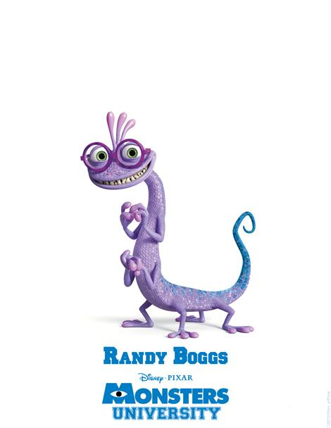 Randall Randy Boggs Monsters University poster