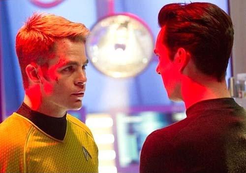 Star-Trek-Into-Darkness Chris Pine Benedict Cumberbatch photo