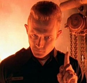 Terminator_2-t-1000 police officer pointing