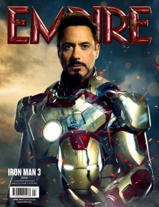 Tony Stark Robert Downey Jr Iron Man 3 poster