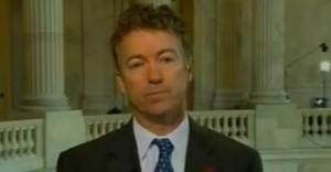 Senator Rand Paul Image/Video Screen Shot