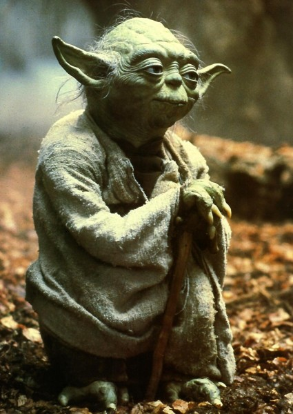Yoda Empire Strikes Back phot