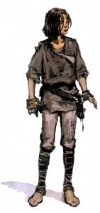 Young Han Solo concept art