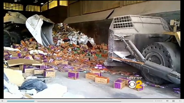 bulldozer thousands girl scout cookies destroyed