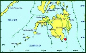 Sarangani earthquake Image/Phivolcs