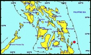 Surigao del Norte earthquake map/Phivolcs