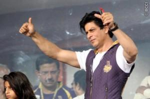Shahrukh Khan at the IPL