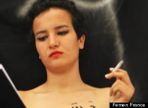 Amina Tyler FEMEN photo