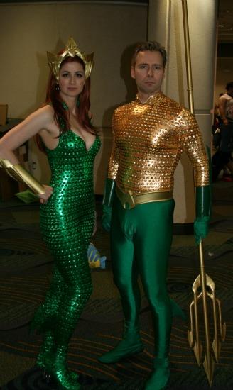 Aquaman Queen Cosplay MegaCon 2013