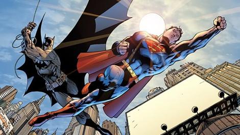 Batman Superman DC Comics photo