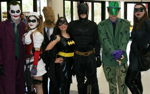 Batman villains Cosplay MegaCon 2013