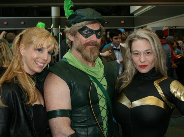 Black Canary Green Arrow Cosplay MegaCon 2013