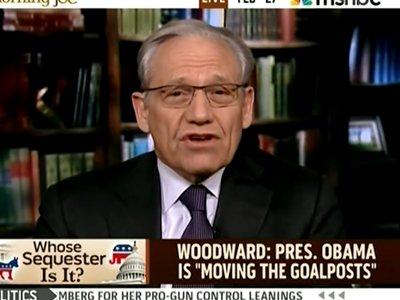 Bob Woodward Obama madness sequester