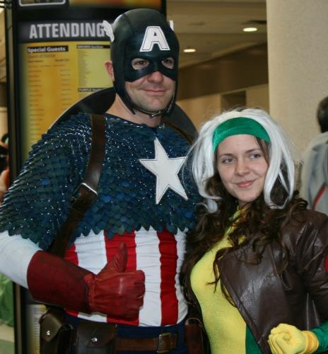 Captain America Rogue Cosplay MegaCon 2013