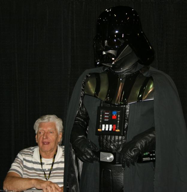 David Prowse Darth Vader photo MegaCon 2013