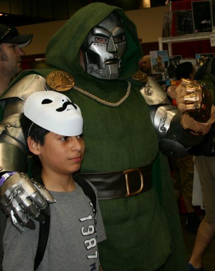 Doctor Doom Cosplay MegaCon 2013