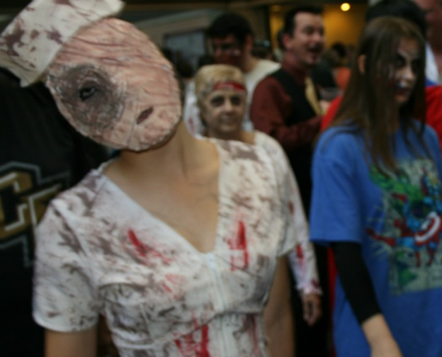 Face missing zombie Cosplay MegaCon 2013