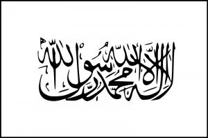 Flag of Taliban photo public domain