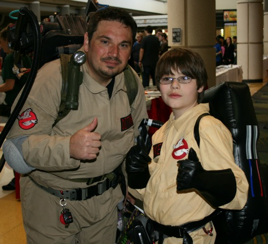 Ghostbusters Cosplay MegaCon 2013