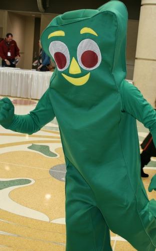 Gumby Cosplay  MegaCon 2013