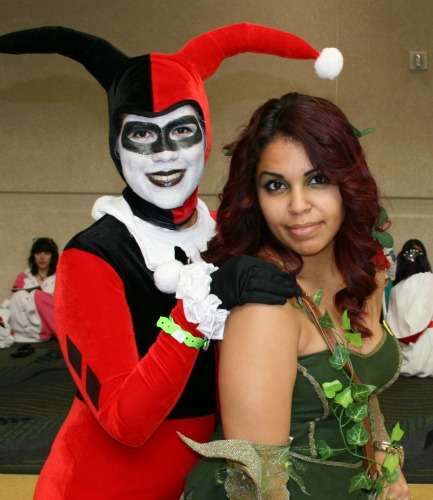 Harley Quinn Poison Ivy Cosplay MegaCon 2013