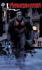 I-Frankenstein-Comic-Book cover
