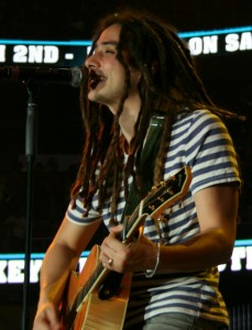 Jason Castro performing Winter Jam 2013 photo Brandon Jones