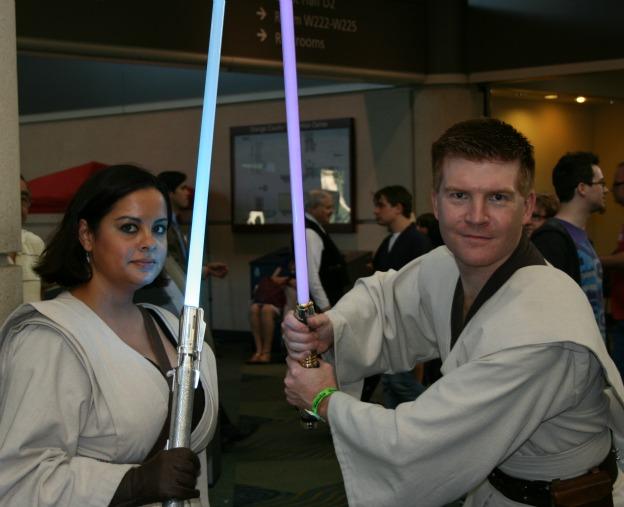 Jedi Star Wars Cosplay  MegaCon 2013