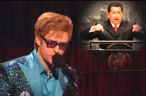 Justin Timberlake Elton John Chavez song