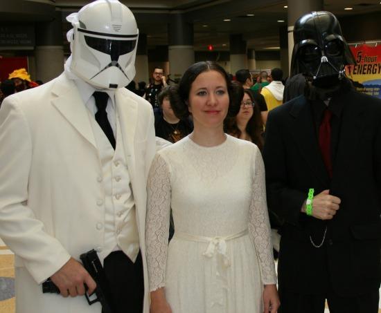 Leia Star Wars Cosplay MegaCon 2013