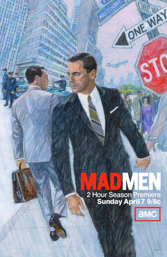 'Mad Men' season 6 unveils first poster, created by Brian ...