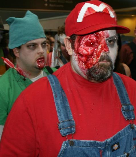 Mario Zombie Cosplay MegaCon 2013