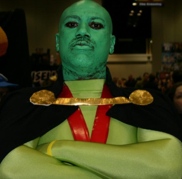 Martian Manhunter Cosplay  MegaCon 2013