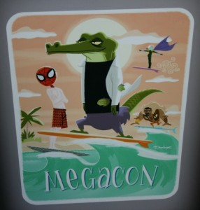 MegaCon banner from 2013