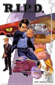 RIPD comic book