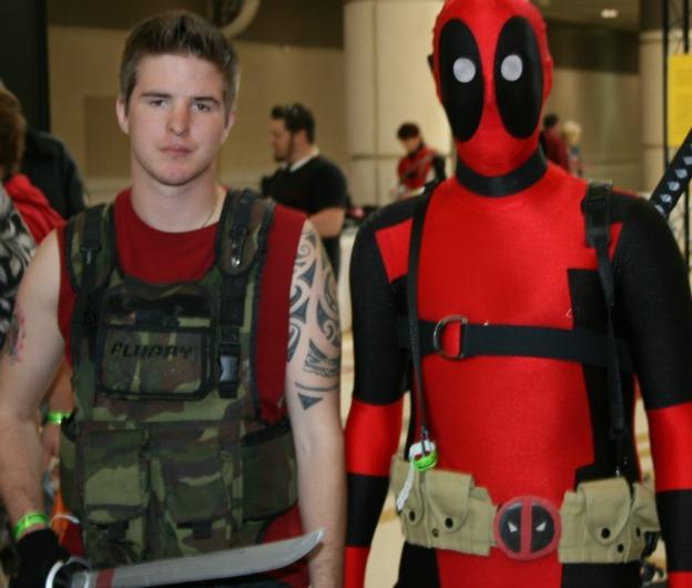 Ryan Reynolds Deadpool Cosplay  MegaCon 2013