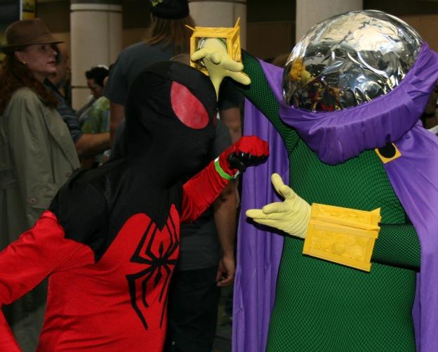 Spider-Man Mysterio Cosplay MegaCon 2013