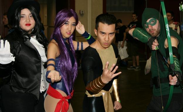 Superhero Cosplay MegaCon 2013