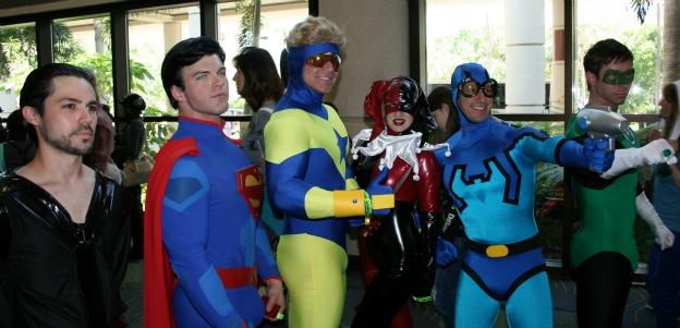 Superman Justice League Cosplay MegaCon 2013