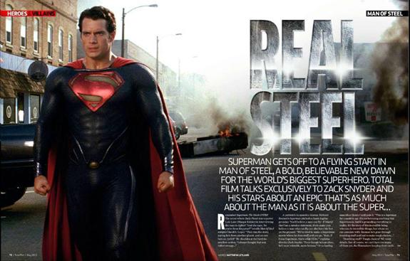 Superman Man of Steel total film