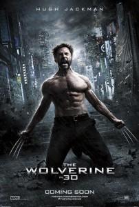 The Wolverine Hugh Jackman Tokyo skyline poster