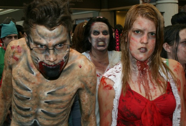 Walking Dead Zombie Cosplay MegaCon 2013
