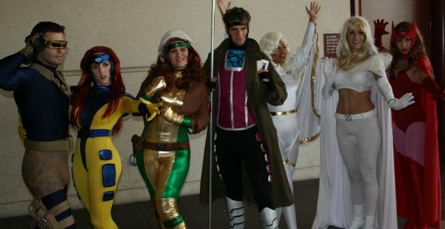 X-Men Cosplay group photo MegaCon 2013