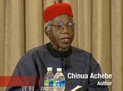 Chinua Achebe Library of Congress Video Screen Shot