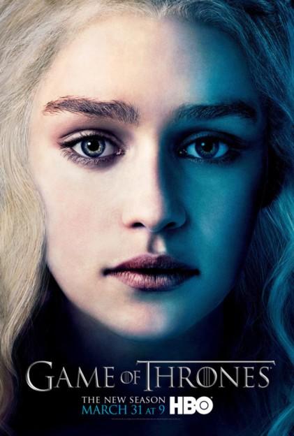 ustv-game-of-thrones-s3-poster- Daenerys Targaryen