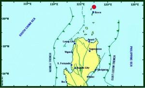 Batanes earthquake Image/Phivolcs