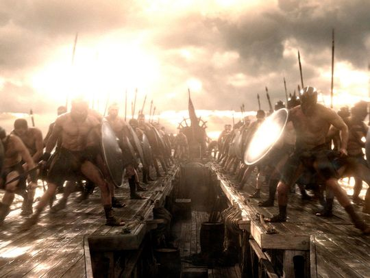 300 Rise of an Empire army photo