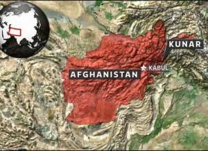 Afghanistan Kunar map