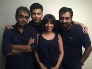 The Bombay Talkies Directors. Image Courtesy: Anurag Kashyap Fan Club Page via Twitter